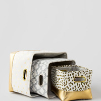 Glitzy Storage Bins Set Of 3