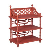 Manor Spindle Shelf Tangerine