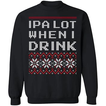 IPA LOVE UGLY FUNNY SWEATER