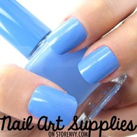 nailartsupplies   Baby Blue - Light Sky Blue Nail Polish Lacquer 16ml   Online Store Powered by Storenvy