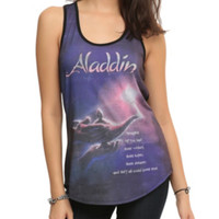 Disney Aladdin Movie Poster Sublimation Girls Tank Top