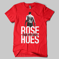 Rose Before Hoes Derrick Rose Chicago Bulls T-Shirt