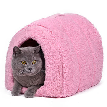 Easy-Washed Arched Shape Cat Bed