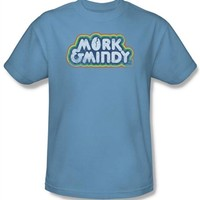 Mork and Mindy Logo T-Shirt | TV Show Tees |Old School Tees