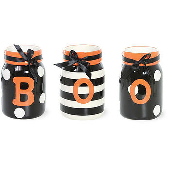 Boo Jar Set 3ct