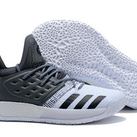 Adidas Harden Vol. 2 White/Gray Basketball Shoes US7-11.5