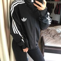 Black adidas originals jacket