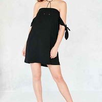 Kimchi Blue Tie Sleeve Off-The-Shoulder Mini Dress - Urban Outfitters