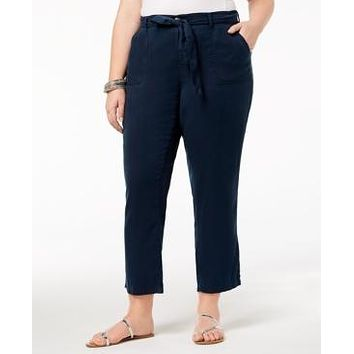 Style & Co Plus Size High-Rise Soft Casual Pants