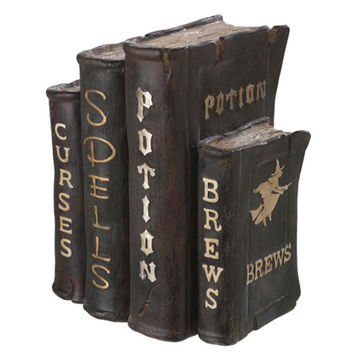RAZ Witch's Spell Book Halloween Decoration