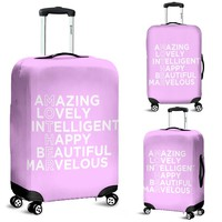 NP Mother Luggage Cover Pink