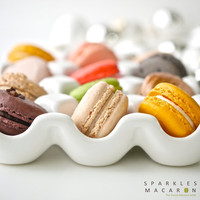 48 Assorted Regular French Macarons