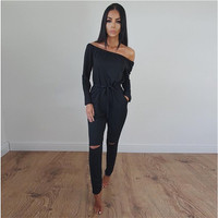 2016 mode Strampler Sommer Frauen Jumpsuit Sexy spitze Playsuits Casual Strand Floral Playsuits Overalls Body