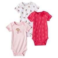 """Carter's Baby Girls' 3 Pack Bodysuits """"Daddy's Girl"""" (Nb-24 Months) (Pink)"""