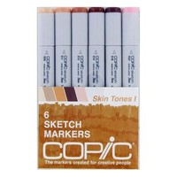Save On Discount Copic Sketch Markers, Skin Tones 1, Set of 6 & More at Utrecht