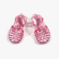 Arsene et Les Pipelettes Jelly Shoes - Pink - FINAL SALE