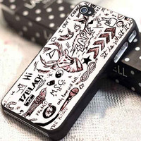 One Direction Tattoos customized for iphone 4/4s/5/5s/5c, samsung galaxy s3/s4, and ipod touch 4/5
