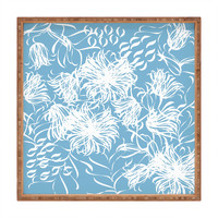 Vy La Cool Breezy Blue Square Tray