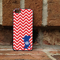 Personalized iPhone Case, - iPhone 4, iPhone 4s, iPhone 5, Samsung Galaxy S3, Galaxy s4  - Mississippi - Ole Miss - Colonel Reb - 152