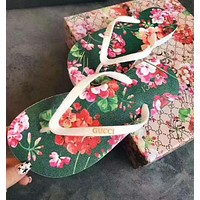 Gucci Fashion Casual Trending Floral Print Sandal Slipper Shoes For Women G