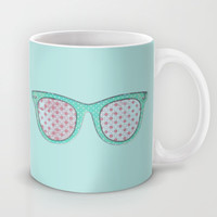 Retro Sunnies Mug by M Studio