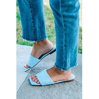 Ready To Board Sandals: Blue