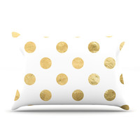 "KESS Original ""Scattered Gold"" Pillow Case"