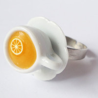 ORANGE JUICE - adjustable ring