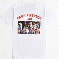 Wet Hot American Summer Camp Firewood Tee