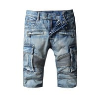 Denim Rinsed Denim Pants [10699379459]