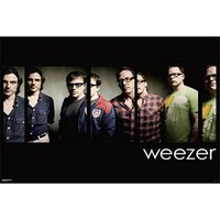 Weezer Group Shot Rock Music Poster 24 x 36 inches