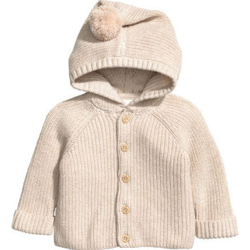 H&M Hooded Cotton Cardigan $29.99