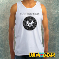 One Direction Ramones Logo Clothing Tank Top For Mens