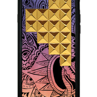 Wildflower Free Spirit Gold Pyramid iPhone 6 Case