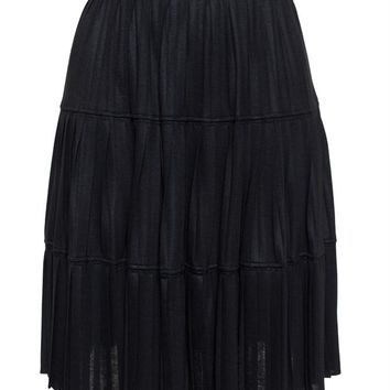 GIVENCHY   Pleated Jersey Skirt   brownsfashion.com   The Finest Edit of Luxury Fashion   Clothes, Shoes, Bags and Accessories for Men & Women