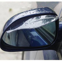1pair Universal Rearview Mirror Rain Snow Shield Guard Board Sun Visor Shade For Car Free Ship