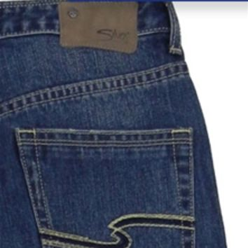 Silver Jeans for Boys Zane Relaxed Bootcut Medium Wash