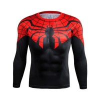 Ultimate Spiderman Long Sleeve Compression Shirt
