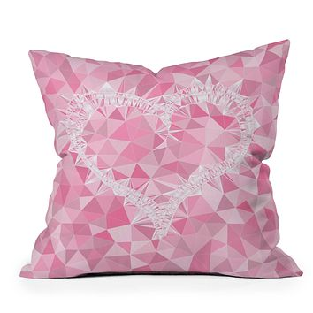 Lisa Argyropoulos Heart Electric Throw Pillow