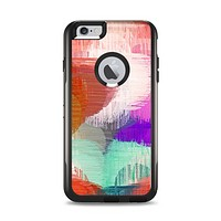 The Faded Neon Painted Hearts Apple iPhone 6 Plus Otterbox Commuter Case Skin Set