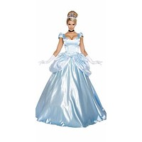 Sexy Belle of the Ball Princess Halloween Costume