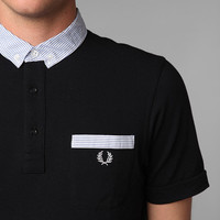 Fred Perry Seersucker Trim Polo Shirt