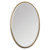 Mirrors, Lane Classic Oval Wall Mirror, Gold, Wall Mirrors