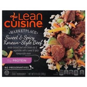 Lean Cuisine® Marketplace Sweet and Spicy Korean Style Beef 8.75 oz