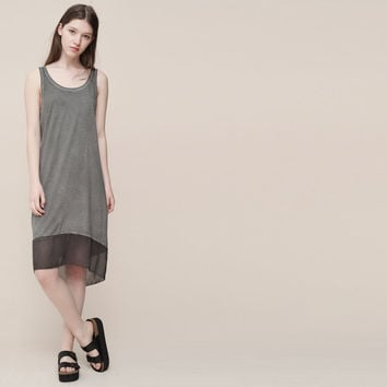 FADED DOUBLE LAYER DRESS - NEW PRODUCTS - NEW PRODUCTS - PULL&BEAR Slovenia