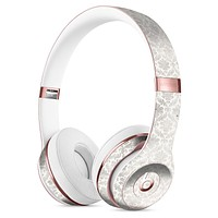 Micro Faded Black and White Damask Pattern Full-Body Skin Kit for the Beats by Dre Solo 3 Wireless Headphones