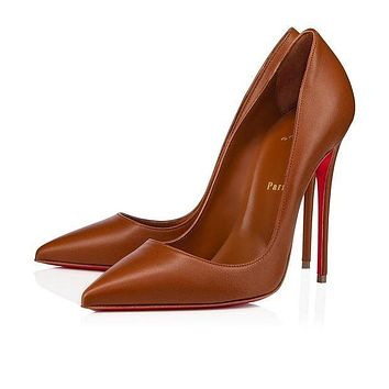 GUUCI/Christian Louboutin New pointed high heels