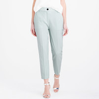 PRE-ORDER COLLECTION WOMEN'S LUDLOW PANT IN MINT ITALIAN WOOL