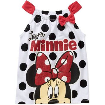 Minnie Mouse Baby Toddler Girl Tank - Walmart.com