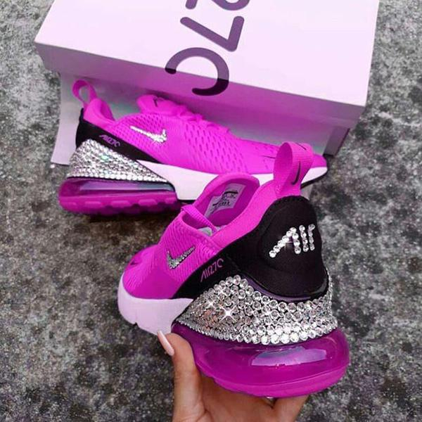 Image of Nike Air Max 270 Crystals Sneakers Sport Shoes